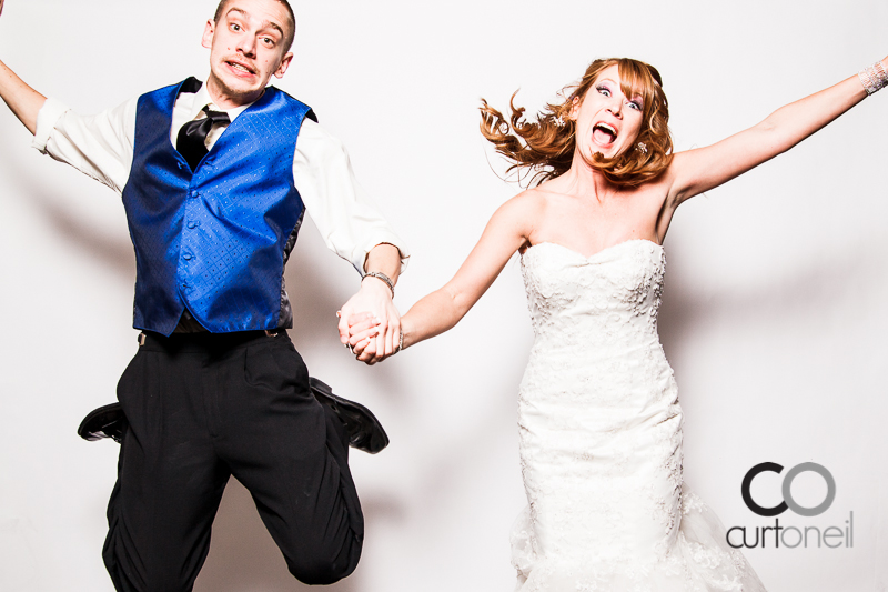 Sault Ste Marie Wedding Photography - Awesome Booth Lindsey and John - New Year's Eve, Marconi
