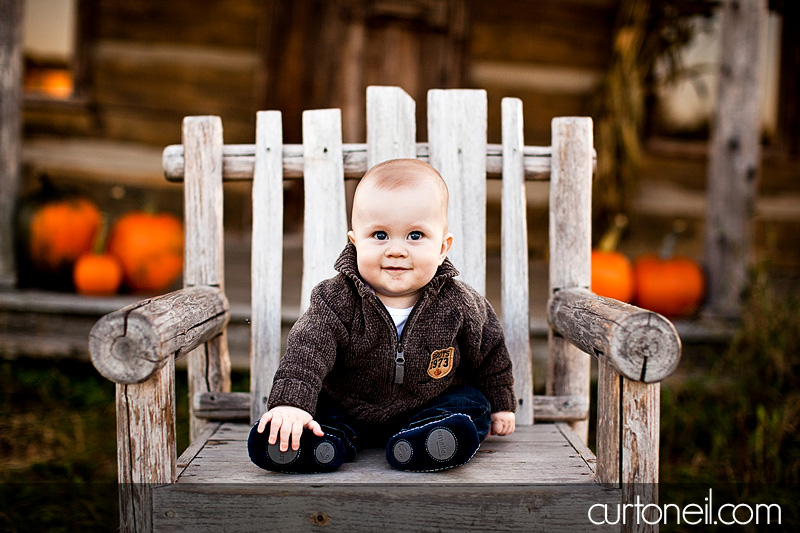 Sault Ste Marie Baby Photography - Charlie at six months of age - sneak peek