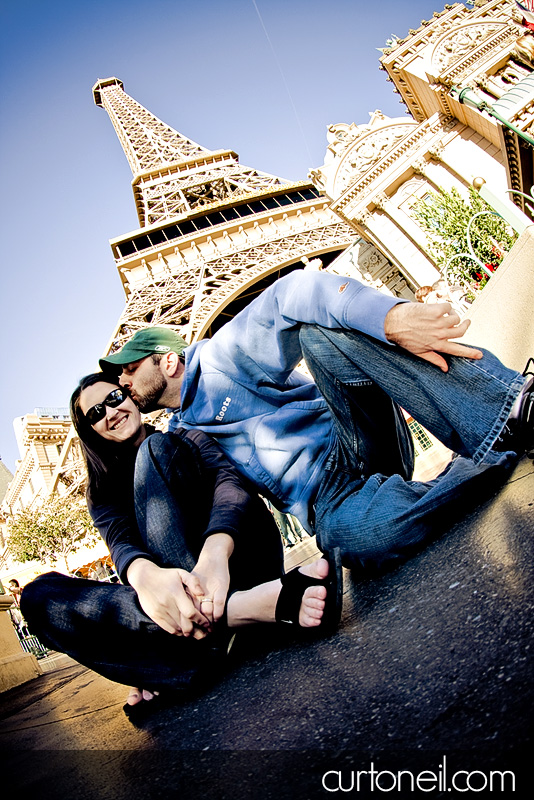Curt and Jes Engagement shoot in Las Vegas - Curt O