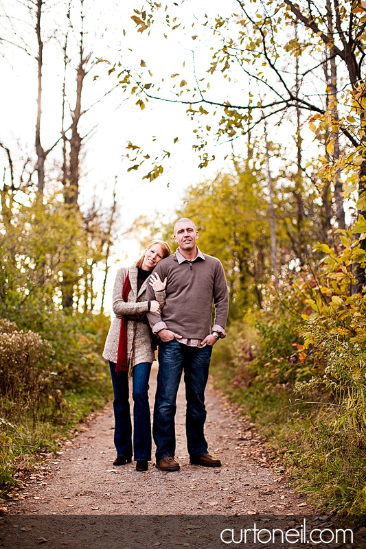 Sault Ste Marie Engagement Photography - Abby and Dave - Whitefish Island, fall, downtown, alley