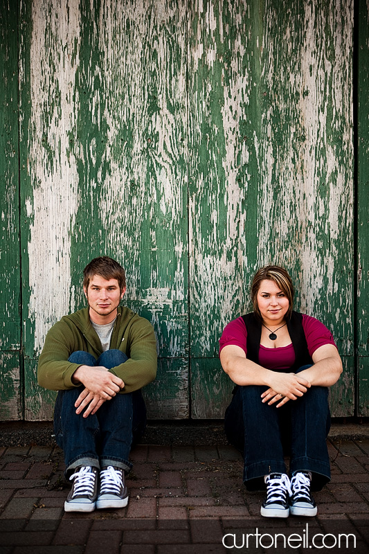 Engagement Shoot - in time out