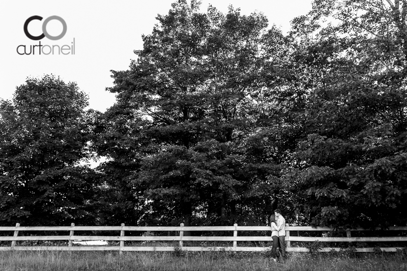 Sault Ste Marie Engagement Photography - Brianna and Josh - Red Rock, camp, summer
