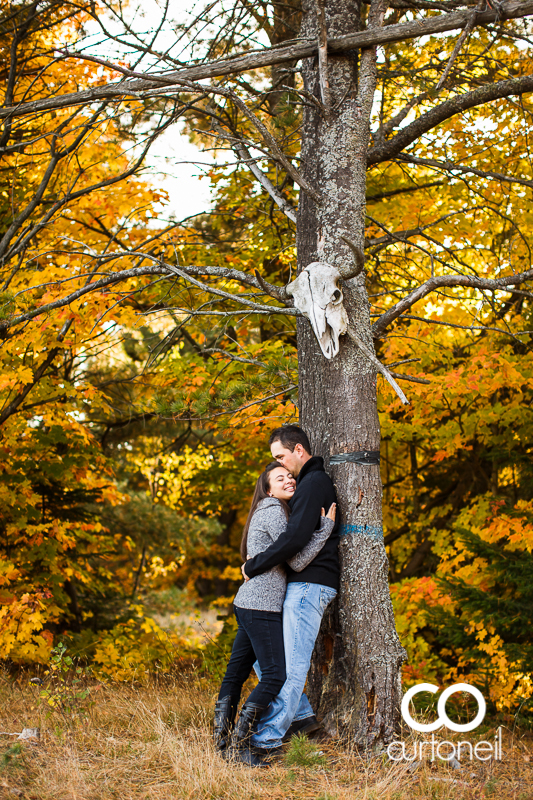 Sault Ste Marie Engagement Photography - Christina and Chris - fall, pumpkin, Mockingbird Hill Farm, Hiawatha