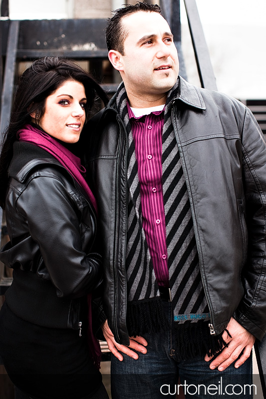 Sault Ste Marie Engagement Photography - Franca and Frank - sneak peek