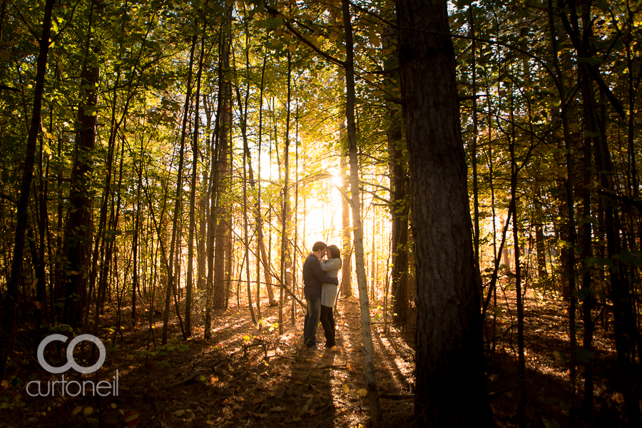 Sault Ste Marie Engagement Photography - Tessa and Leo - Hiawatha Highlands, fall, trees, awesome