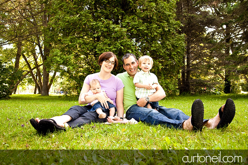 Sault Ste Marie Family Photography - Brown Family - Curt O