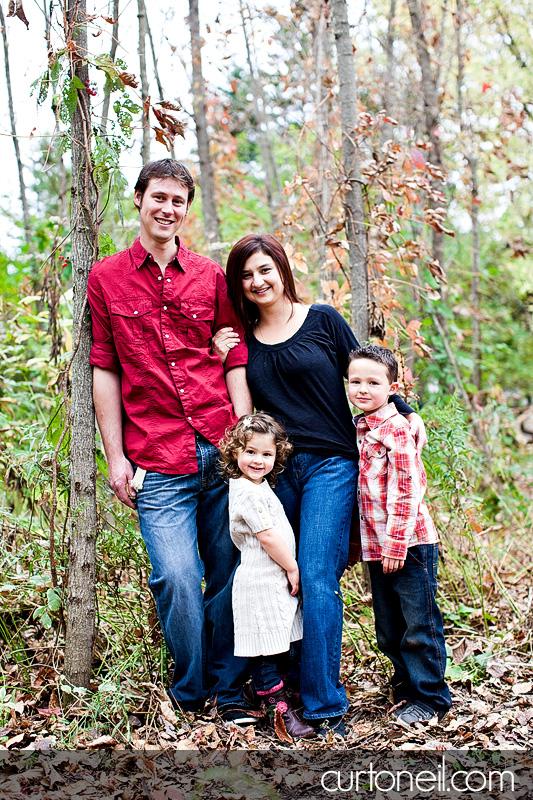 Sault Ste Marie Family Photography - Burns family fall sneak peek