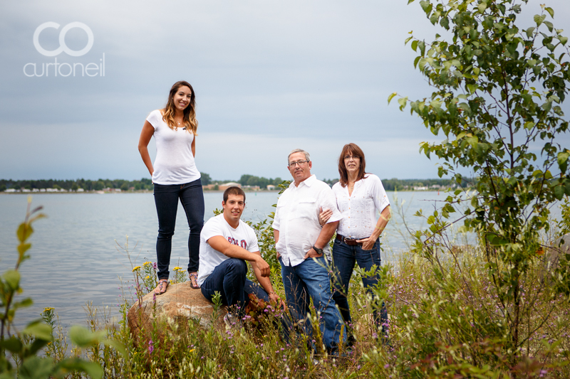 Sault Ste Marie Family Photography - Corelli Family - sneak peek, summer, Bellevue Park, St. Mary's River
