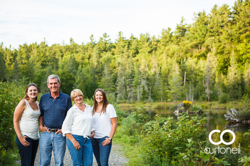 Sault Ste Marie Family Photography - Foster Family - sneak peek at Hiawatha Highlands