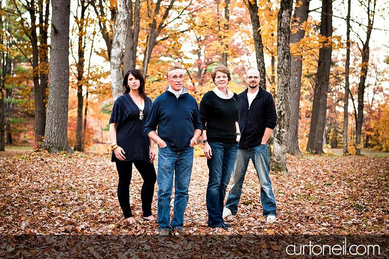 Sault Ste Marie Family Photographer - Gallagpher Family - Hiawatha Highlands in the fall sneak peek