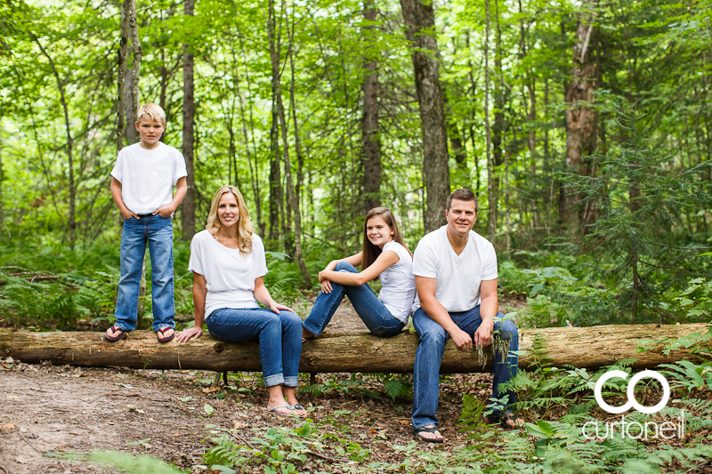 Sault Ste Marie Family Photography - Randa Family - sneak peek on a summer morning at Wishart Park
