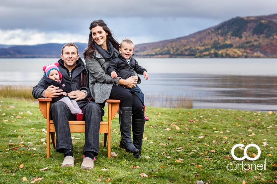 Sault Ste Marie Family Photography - Thomson Family - sneek peek, Havilland, fall, rain