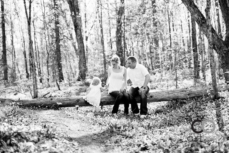 Sault Ste Marie Family Photography - Van Hoof Family - Wishart Park, spring
