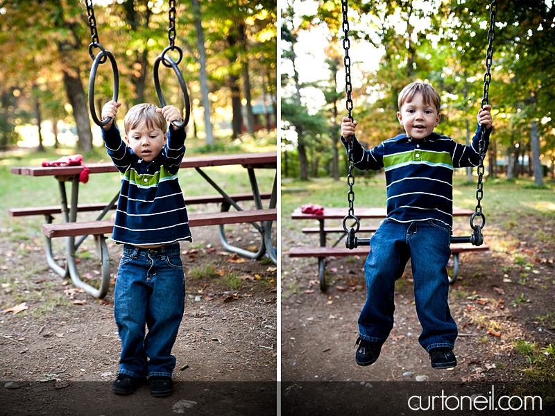 Family Photography - Nathan monkeying around
