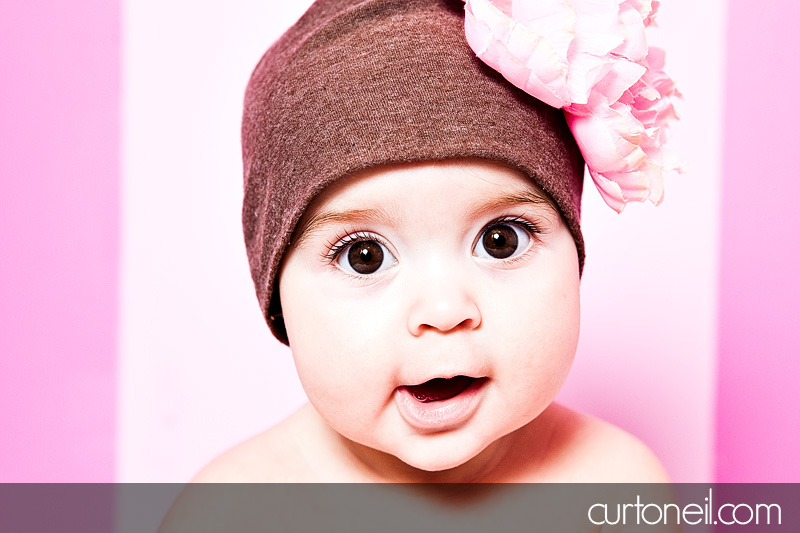 Sault Ste Marie Baby Photography - Charlie 6 months - Sneak peek