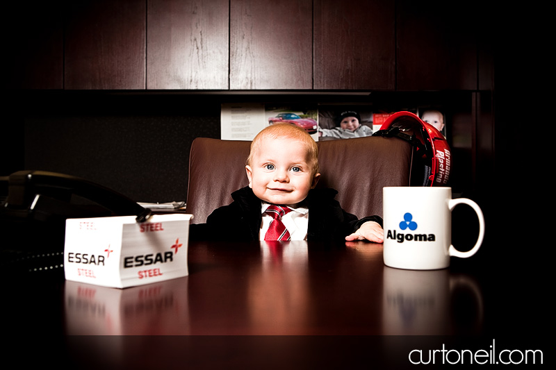 Oliver the Business Man - Curt O'Neil Photographer