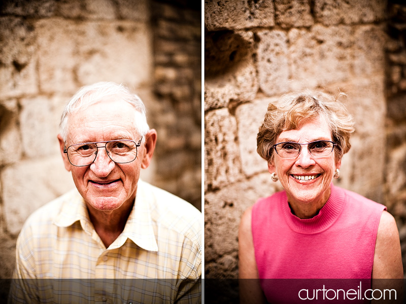 Tuscany Family Photos - Knox - grandpa and grandma