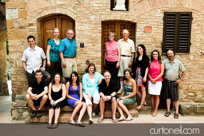 Tuscany Family Photo - Knox