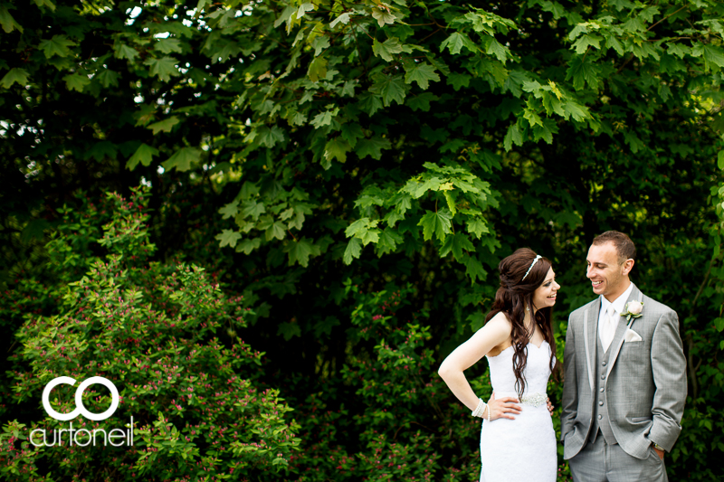 Sault Ste Marie Wedding Photography - Amanda and Frank - Bellevue Park, summer, trees, path