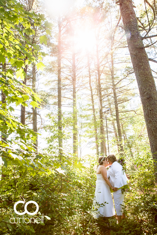 Sault Ste Marie Wedding Photography - Crystal and Maralyn - Pancake Bay, outdoor, summer wedding