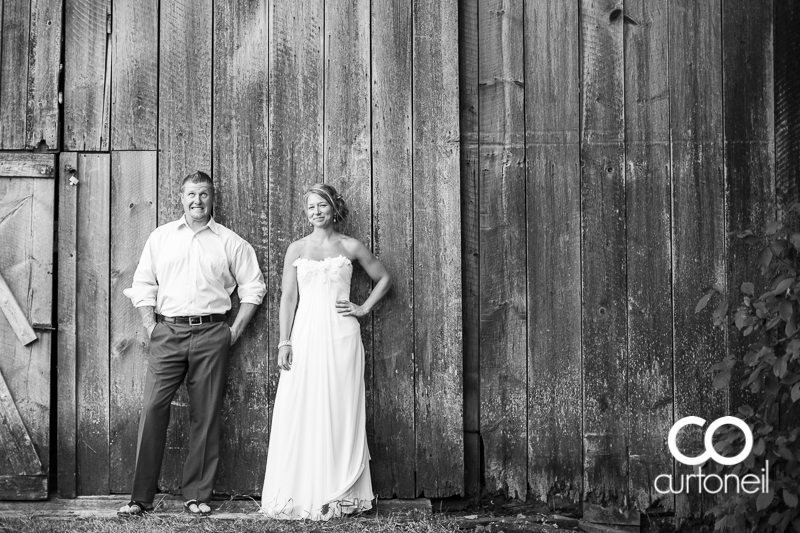 Sault Ste Marie Wedding Photography - Dawn and Dan - outdoor wedding, Thomson Strawberry Farm, summer