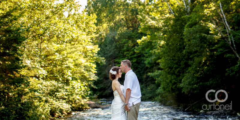 Sault Ste Marie Wedding Photography - Melisa and Jonathan - Big Basswood Lake, Little Rapids, river, fish hatchery, sneak peek, summer