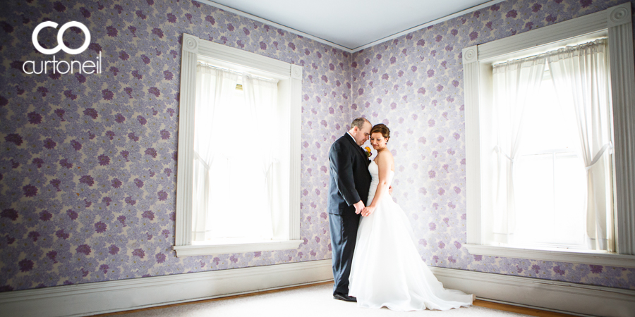 Sault Ste Marie Wedding Photography - Nina and Joe - sneak peek at the Superintendent's Residence at the Soo Locks