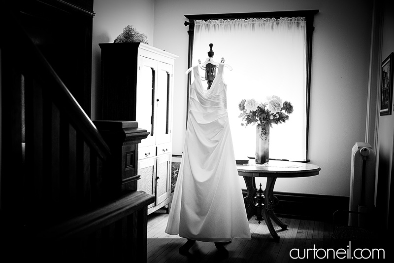Sault Ste Marie Wedding - Rebecca and Brent - wedding dress