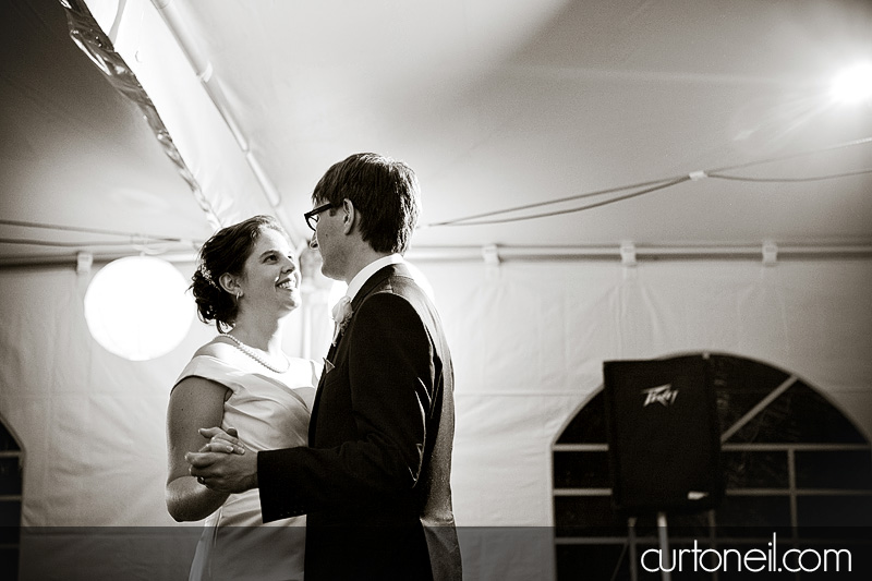 Sault Ste Marie Wedding - Rebecca and Brent - first dance