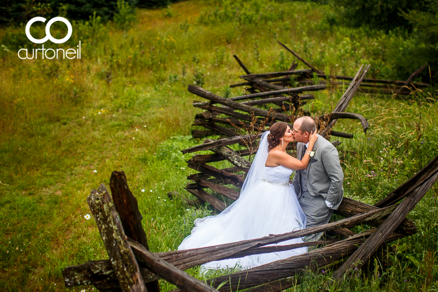 Sault Ste Marie Wedding Photography - Sara and Alex - sneak peek, summer, rain, Round Barn, Sowerby
