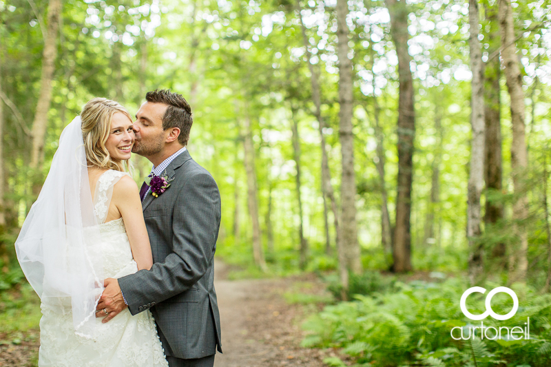 Sault Ste Marie Wedding Photography - Sarah and Mike - Wishart Park, Willowgrove, summer, trees