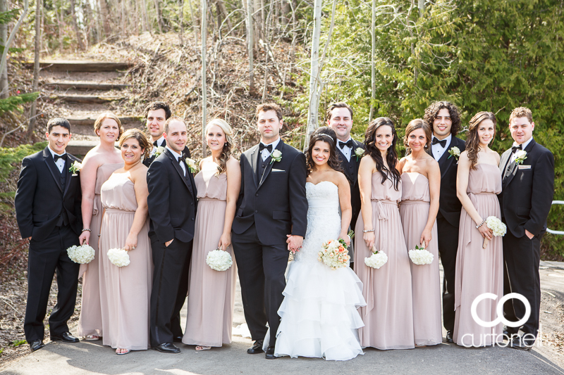 Sault Ste Marie Wedding Photography - Stacey and Jon - Grand Gardens, Fort Creek, spring