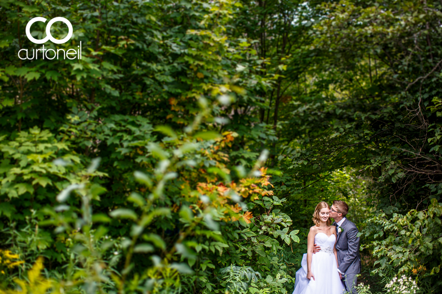 Sault Ste Marie Wedding Photography - Victoria and Adam - sneak peek, Wishart Park, summer, trees