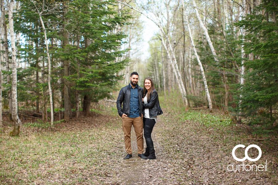 Lisa and Josh - Sault Engagement