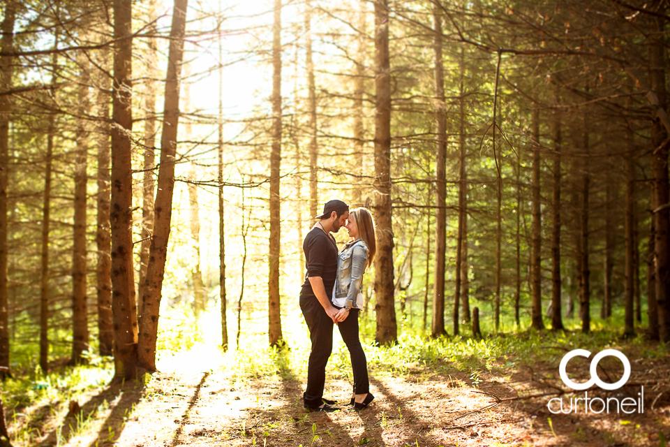 Amanda and Mike - Sault Engagement - Fort Creek