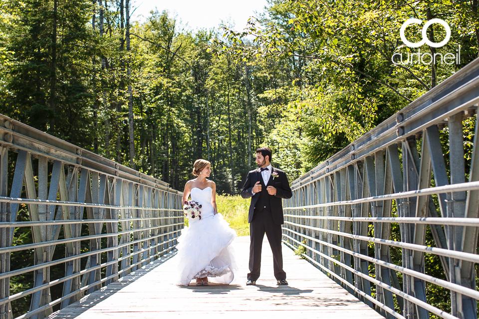 Amanda and Mike - Sault Ste Maire Wedding Photography - Fort Creek, bridge