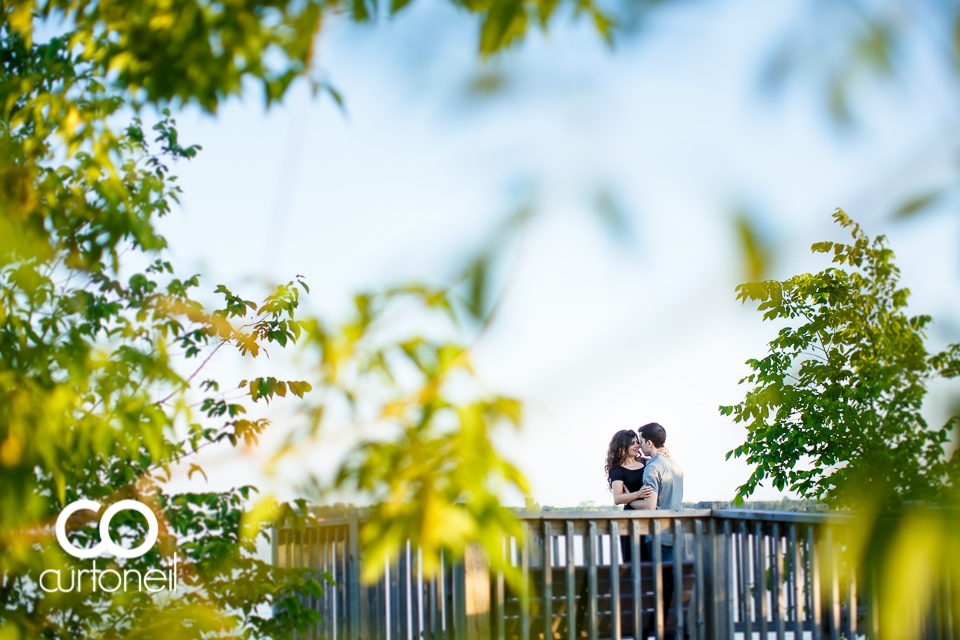 Amanda and Rocco - Sault Engagement - sneak