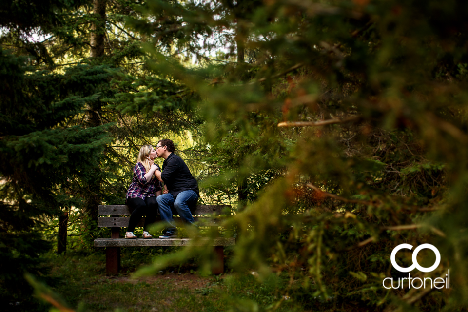 Aimee and Chris - Sault Engagement - Sneak - Bellevue Park