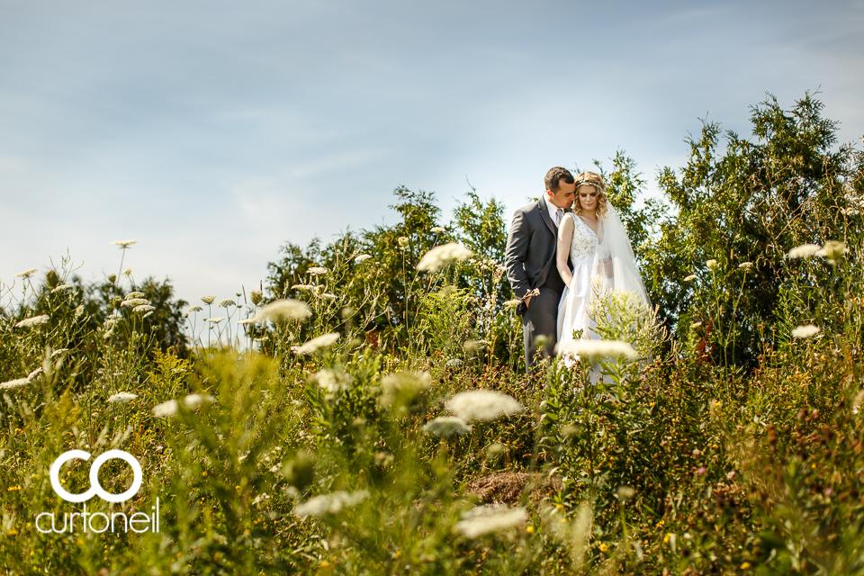 Natalie and Mark - Sault Ste Marie Wedding - Sneak Peek - Backyard