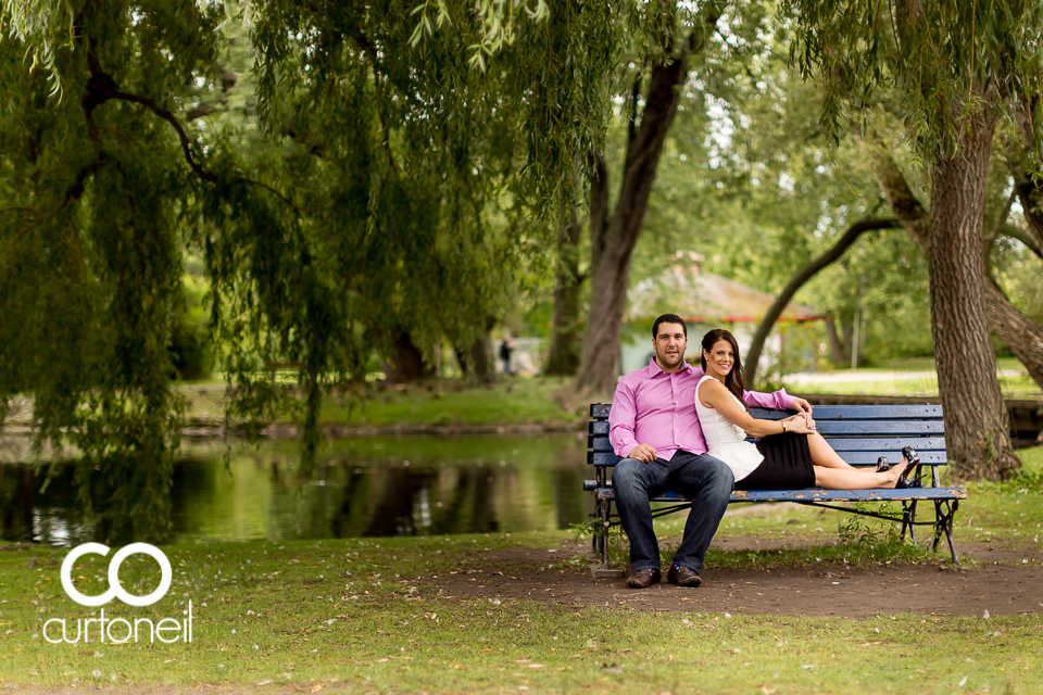 Melissa and Antonio - Toronto Engagement, Toronto Island, Distillery District, Rogers Centre, Blue Jays
