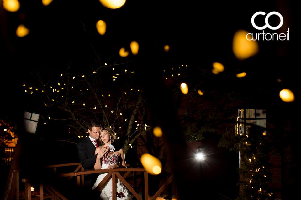 Andrea and Serge - Sault Wedding - Sneak Peek - Water Tower Inn, Winter