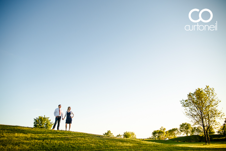 Jessyka and Eric - Sault Ste Marie Engagement Photography - Bellevue Park
