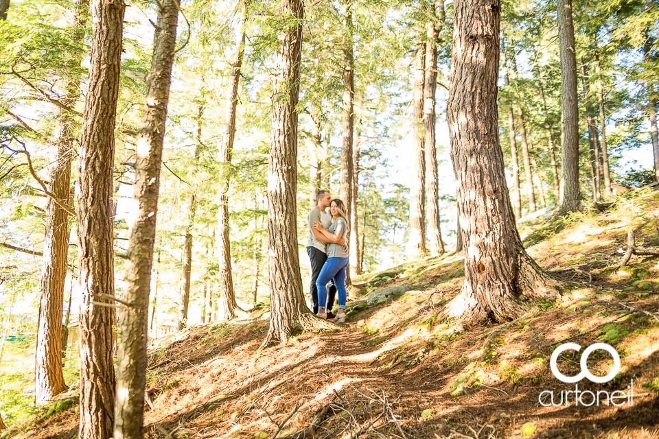 Brittany and Chris - Sault Engagement - Diamond Lake