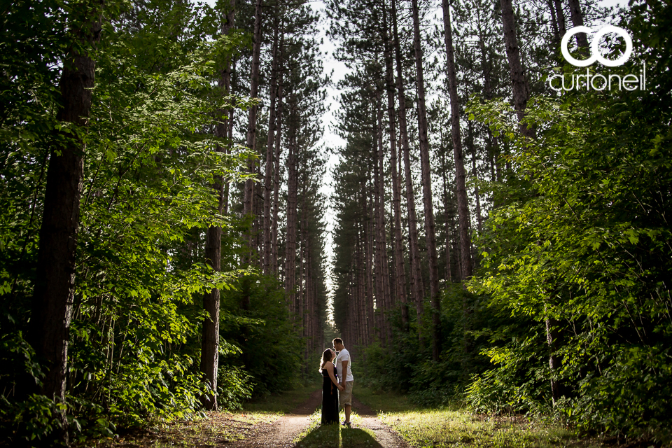 Melissa and Christian - Sault Engagement Pinder Trail
