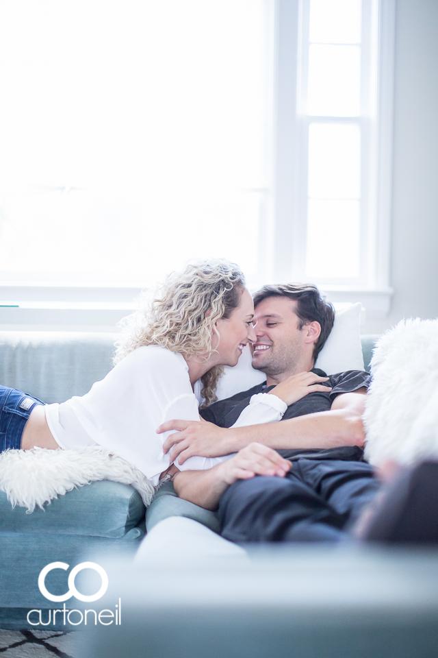 Sophie and Dan - Sault Engagemen