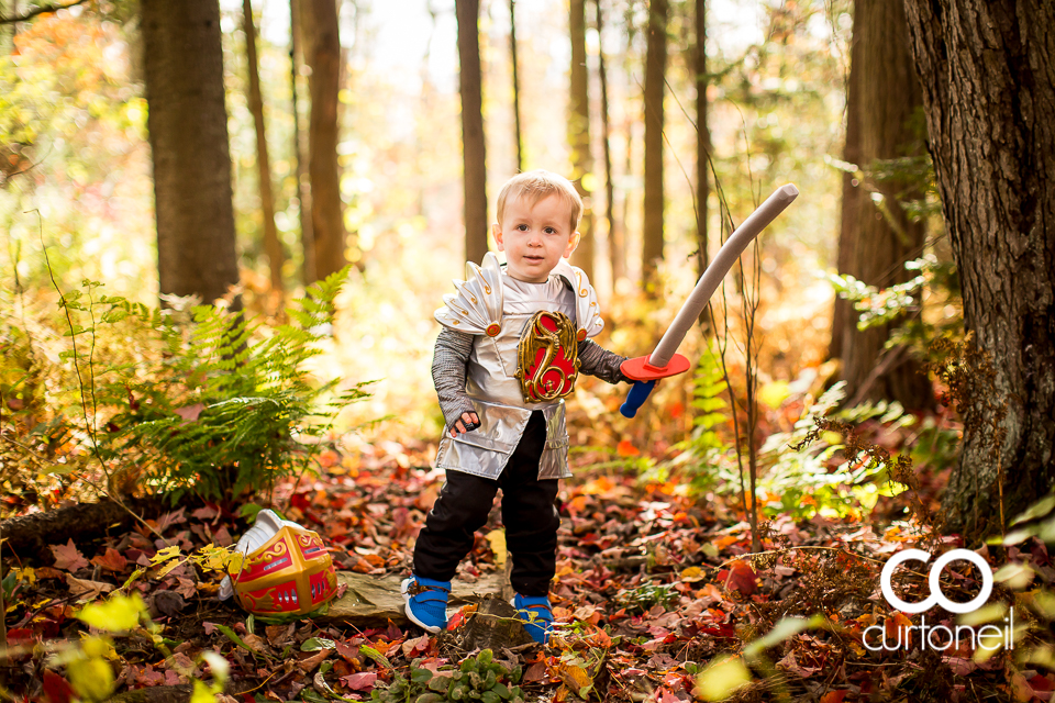 Halloween - Reese and Finn - Dragon and Knight