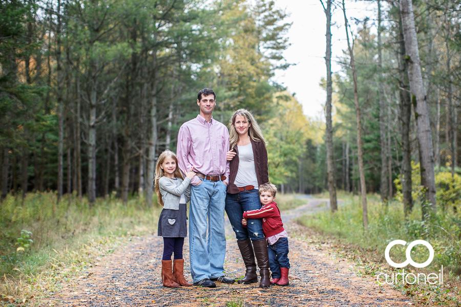 Sault Ste Marie Family Photography - Smith Family - sneak peek, fall, rain, St. Joseph Island